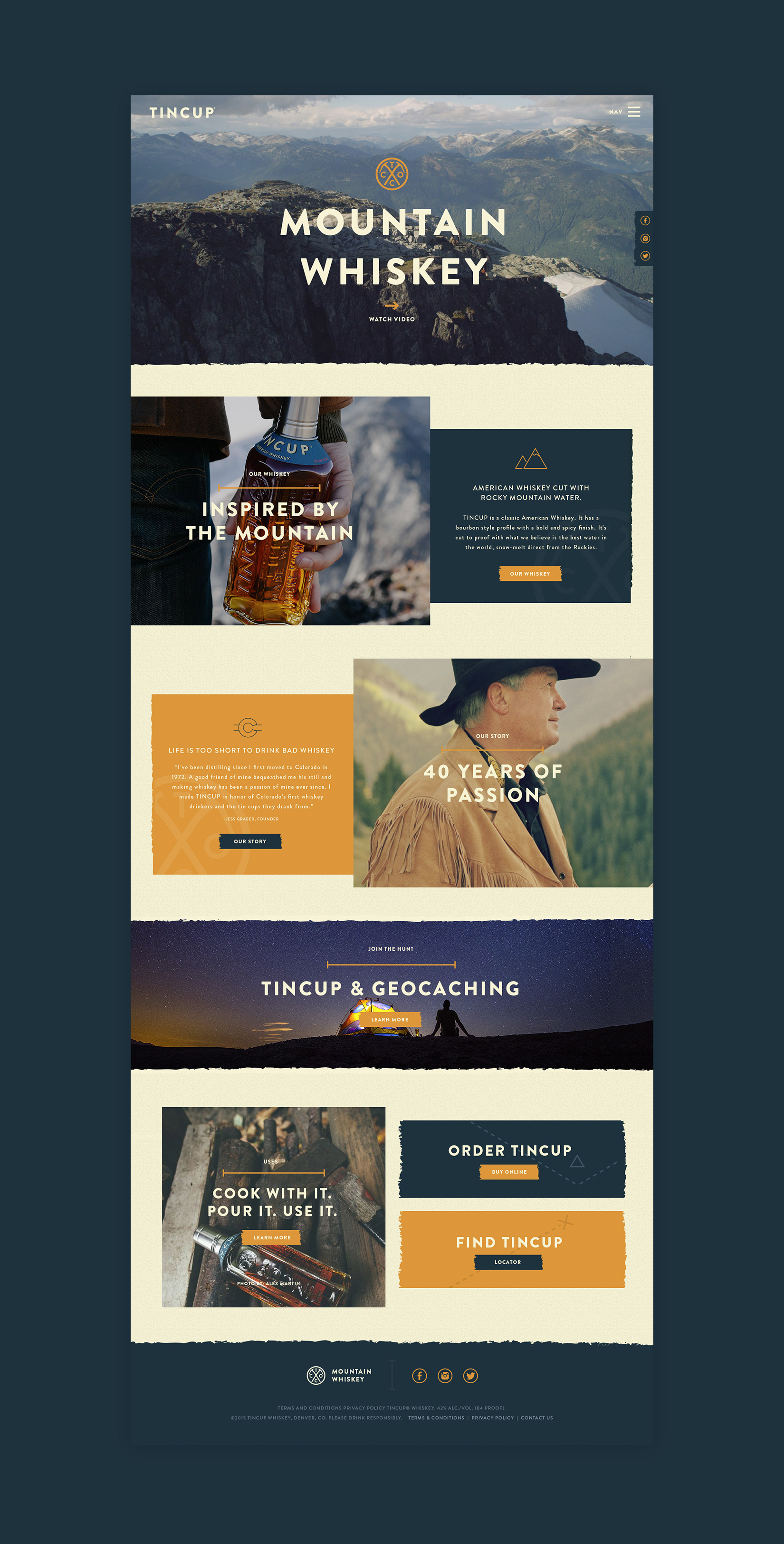 Tincup homepage